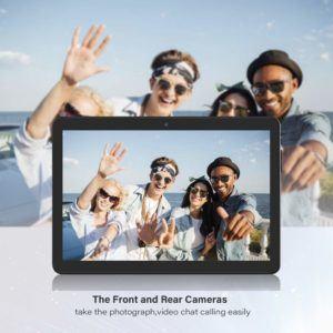 Comment est évalué l'appareil photo d'une tablette ?