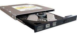 Le lecteur DVD d'un pc portable dans un comparatif