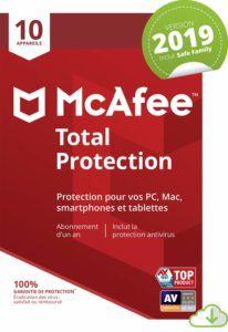 Qu'est-ce qu'un McAfee Total Protection 2019 ?