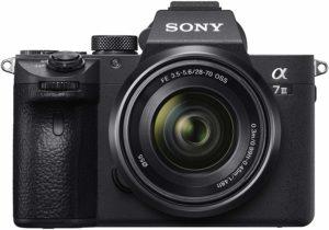 L'appareil photo Sony Alpha 7III dans un comparatif
