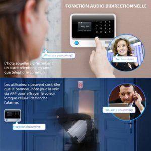 Los componentes de un buen sistema de alarma para el hogar.
