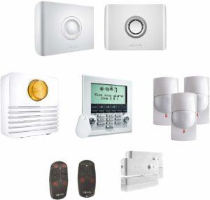 Évaluation des systèmes d'alarme résidentiels SMS GSM KERUI-W18 WiFi
