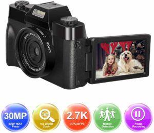Descriptif de l'appareil photo numérique LongOu