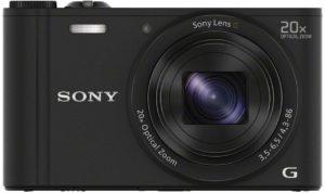 Les attributs de l'appareil photo Sony DSC-WX350 dans un comparatif