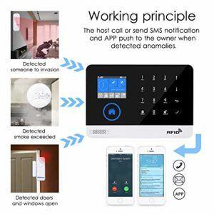Quelles sont les différentes caractéristiques d'une alarme domestique?