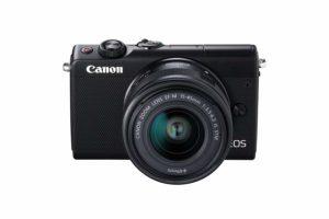 Quelles sont les spécificités de l'appareil photo hybride Canon EOS M100 ?