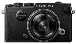 Spécificités de l'appareil photo hybride Olympus PEN-F