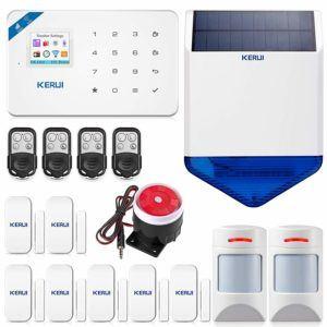 Le détecteur de mouvement est un élément important du système d'alarme domestique.
