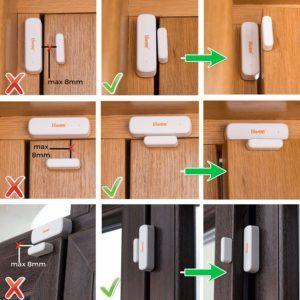 La Facilité du programmation des dispositifs d'un système alarme maison