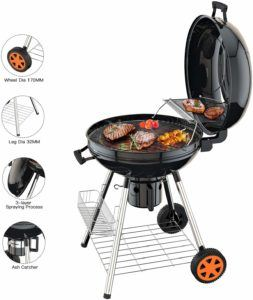 Descriptif du barbecue à charbon Tacklife CG01 A dans un comparatif