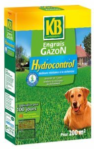 KB Engrais Gazon Hydrocontrol
