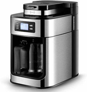 Une machine à café avec un broyeur en acier dans un comparatif gagnant
