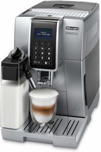 Les attributs de la machine à café avec broyeur Delonghi ECAM350.75.S dans un comparatif