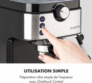 La facilité d'utilisation d'une machine à café avec broyeur dans un comparatif gagnant