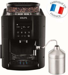 Description de la machine à café automatique avec broyeur Krups AE816031 dans un comparatif gagnant