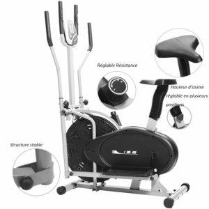 Le vélo elliptique ISE SY-9002