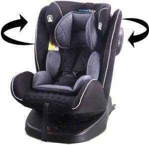 Quel est le niveau de praticité du siège-auto du groupe 2/3 ?