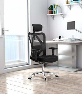 Chaise de bureau ergonomique avec mécanisme de réglage asynchrone