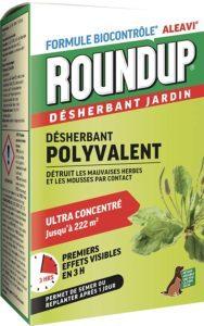 Roundup Désherbant naturel