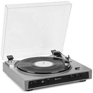 Le type de platine vinyle automatique