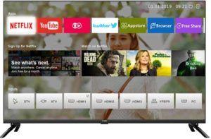 Testés la taille de l'écran du TV OLED 4K