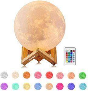 Quelles sont les résultats du comparatif de La lampe lune de ALED LIGHT?