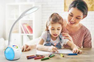 Comment évaluer WILIT Lampe de bureau pour un éclairage coloré ?