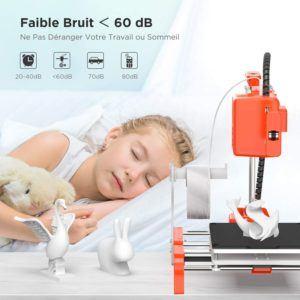 Testés la mise à niveau automatique de l'imprimantes 3D