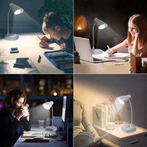 Comment fonctionne une lampe de bureau ?
