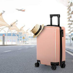 Le type d'une valise rigide