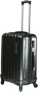 Test de la qualité et de la solidité d'une valise