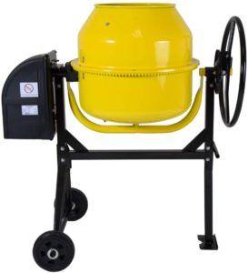 La bétonnière est la machine indispensable pour la fabrication du béton et du mortier.