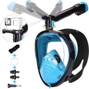 équipement de plongée sous-marine muni d'un dispositif de caméra.
