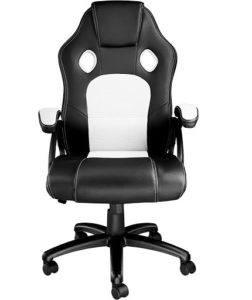 Avec sa forme ergonomique et son rembourrage moelleux, ce fauteuil pc est le compagnon idéal pour vos longues journées de travail à votre bureau. Faites le test