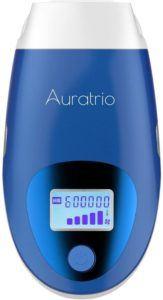 Ce modèle d'épilateur à lumière pulsé d'Auratrio offre d'excellents résultats
