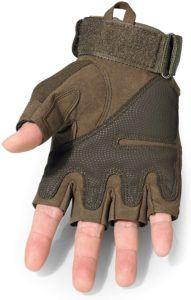 Ce type de gant ne protège pas les articulations des doigts et assure donc une liberté complète pour la conduite sur le guidon.