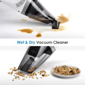 Certains aspirateur de table vous permettent d'aspirer du liquide tout comme les débris secs.