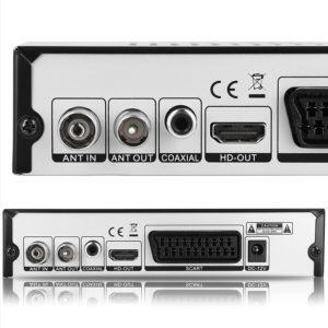 Certains décodeurs offrent des fonctions interactives comme l'enregistrement de programmes de télévision.