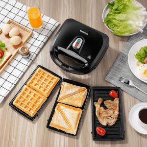 Cet appareil vous permettant de préparer des croque-monsieur, des gaufres, des sandwichs sucrés ou salés etc. De quoi faire de vous le meilleur hôte.