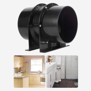 Cet extracteur d'air de Hon&Guan est parfait pour la cuisine et les WC