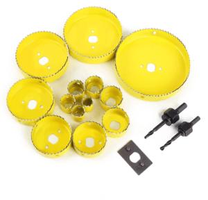 Il est important de s'informer sur le matériau en lequel la scie cloche est faite avant de faire tout type de test avec.