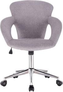 La chaise pivotante peut avoir un design agréable et moderne.