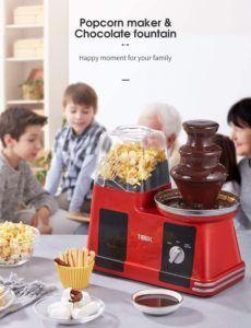 La fontaine de chocolat de Tibek Machine est parfaite pour un moment en famille