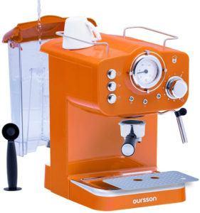 La machine peut également chauffer l'eau pour votre thé et elle est compatible avec les pads ESE.