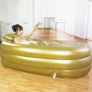 Le design de la Lily's-uk Love Bathtub gonflable Baignoire a été réfléchi de manière sublimer les intérieurs