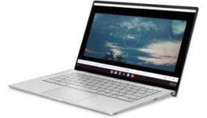 Ordinateur portable équipé d'un écran Full HD et d'un système d'exploitation Chrome OS.