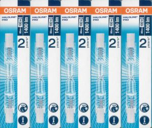 Osram Haloline Pro R7s - Lot de 5
