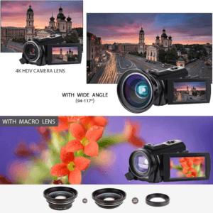 Selon les tests, cette caméra possède une fonction de connexion Wi-Fi et vision nocturne IR.