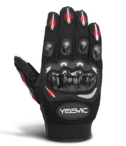 Très designs, ces gants de moto se transforment en véritable accessoire de style.