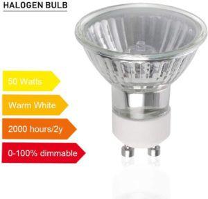 Une ampoule halogène Vicloon Halogen Ampoules